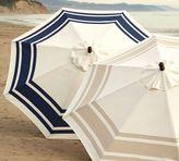 Round Market Umbrella - Hampshire Stripe