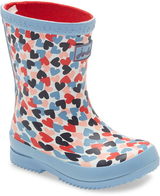 Joules Baby Welly Print Waterproof Rain Boot