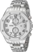 August Steiner Men's AS8140SS Analog Display Swiss Quartz Silver Watch