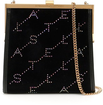 Stella McCartney Logo Chain Crossbody Bag