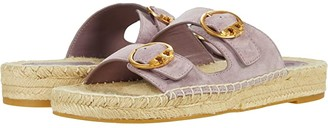 Tory Burch Selby Two-Band Espadrille Slide (Rhum) Women's Shoes