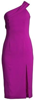 Jay Godfrey Sloan One-Shoulder Dress