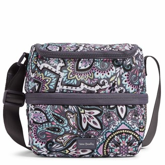 Vera Bradley Recycled Lighten Up Reactive Expandable Cooler Lunch Bag