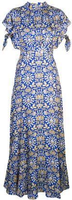 Cynthia Rowley Talia flutter sleeve dress
