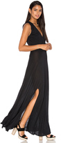 Haute Hippie Modal Drape Front Dress