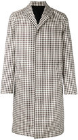 Ami Alexandre Mattiussi check coat - men - Cotton/Acetate/Virgin Wool - 46