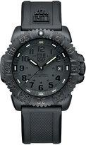 Luminox 44mm Navy SEAL 3050 Series Colormark Watch, Black