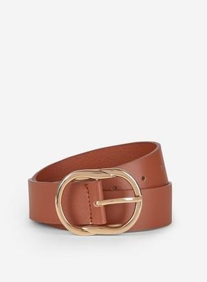 Dorothy Perkins Womens Tan Leather Belt