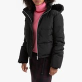 La Redoute Collections Short Padded Puffer Jacket with Hood and Pockets