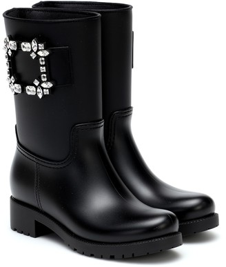 Roger Vivier Tempete Viv' Strass rubber boots