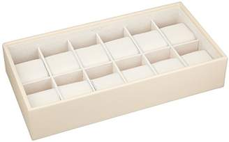 Wolf 309953 Stackable 12 Piece Watch Tray