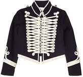 Stella McCartney Military Jacket (Toddler/Little Kids/Big Kids) (Navy) Girl's Clothing