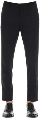 DSQUARED2 Tidy Stretch Worsted Wool Pants