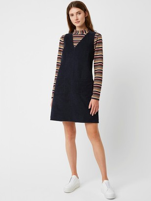 Great Plains Orlando Cord Dress In Space Navy - 12
