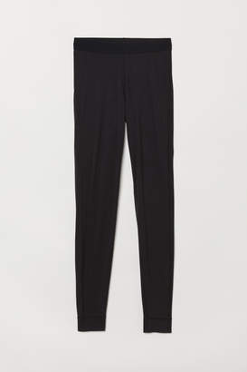 H&M Wool-blend base layer tights