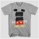 Mickey Mouse & Friends Men's Disney® Mickey Mouse & Friends Block Graphic T-Shirt - Heather Gray