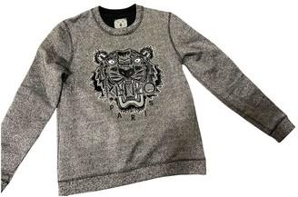 Kenzo Silver Cotton Knitwear for Women