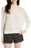 Joie Women's Clady Linen Open Knit Pullover