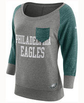 Nike Women's Philadelphia Eagles Vintage Crew Long Sleeve T-Shirt