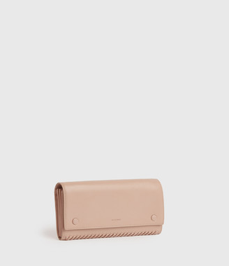 AllSaints Darlina Chain Leather Wallet