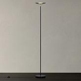 John Lewis Kirk LED Uplighter Floor Lamp, Black