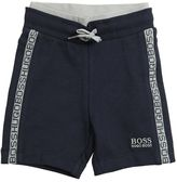 HUGO BOSS Logo Cotton Sweat Shorts