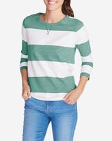 Eddie Bauer Women's Rugby Stripe Sweatshirt