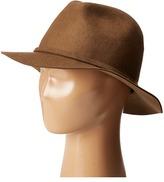 Scala Wool Felt Safari with Feather Trim Safari Hats