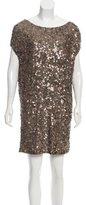Vince Embellished Knee-Length Dress