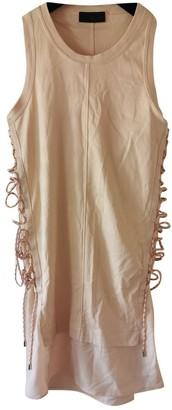Diesel Black Gold Pink Cotton Dress for Women