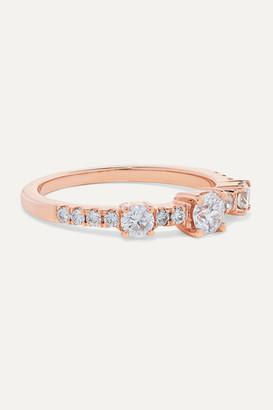 Anita Ko Collins 18-karat Rose Gold Diamond Ring - 6