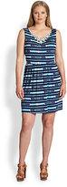 T-Bags Los Angeles, Sizes 14-24 Jeweled-Neck Sheath Dress