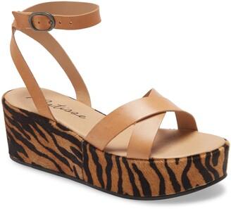 Matisse Sure Thing Platform Wedge Sandal