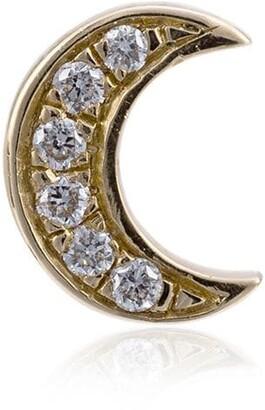 Loquet Diamond Moon Charm