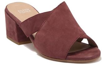 Eileen Fisher Haven Bock Heel Slide Sandal