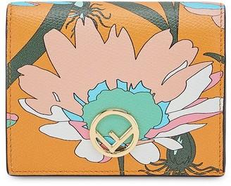 Fendi Small Two-Tone Wallet
