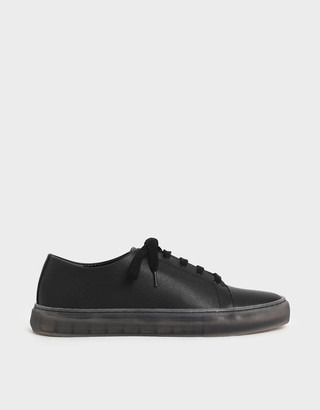 Charles & Keith Clear Sole Trainers