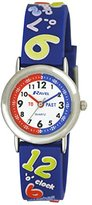 Ravel Boys 3D Know Your Numbers Design Time Teacher Dial Watch R1513.42