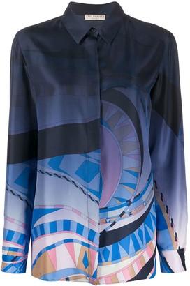 Emilio Pucci Abstract-Print Shirt