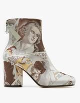 Maison Margiela Print Ankle Boots