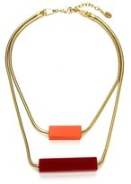 Ben-Amun Havana Layer Necklace with Resin Bars