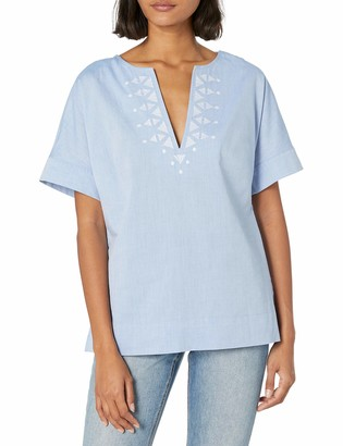 BCBGeneration Women's Embroidered Top