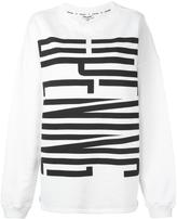 Opening Ceremony logo print sweatshirt - women - Cotton - S