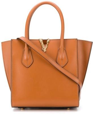 Versace medium Virtus buckle bag