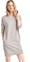 Gap Three-quarter sleeve sweatshirt dress