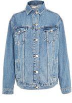 Topshop MATERNITY Oversized MDT Denim Jacket