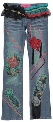 Save the Queen Denim pants
