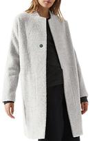 Jigsaw Alpaca Cocoon Coat