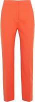 Cédric Charlier Cotton straight-leg pants