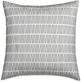 DKNY City Pleat Zig Zag Square Throw Pillow in Ivory